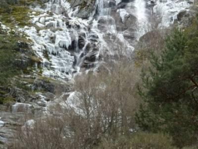 Cascada de Mojonavalle - Sierra de la Morcuera;rutas senderismo pontevedra